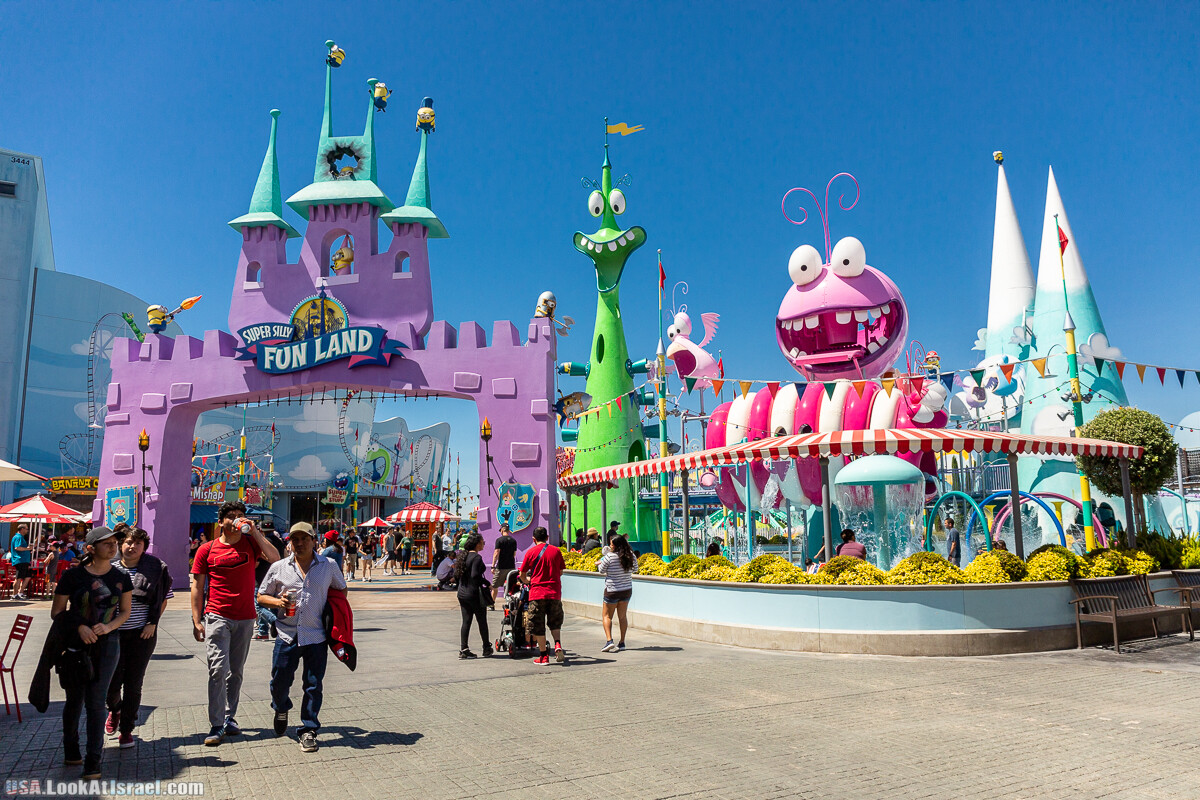 Лос Анджелес, Парк развлечений Universal Studios   LookAtIsrael.com - Фото путешествия по Израилю