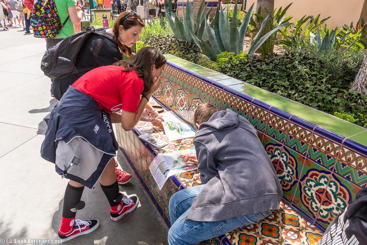 Парк развлечений California Adventures | LookAtIsrael.com - Фото путешествия по Израилю