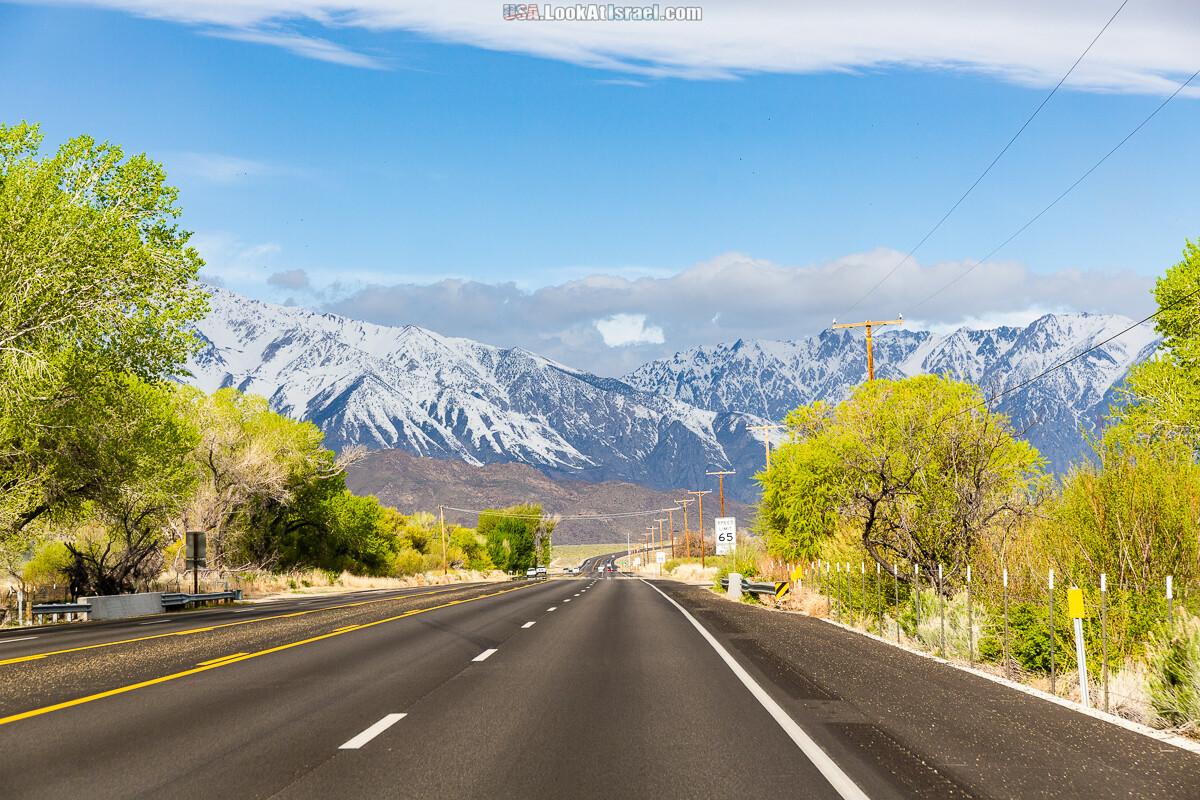 Город Бишоп и дорога в парк Йосемите | LookAtIsrael.com - Фото путешествия по Израилю