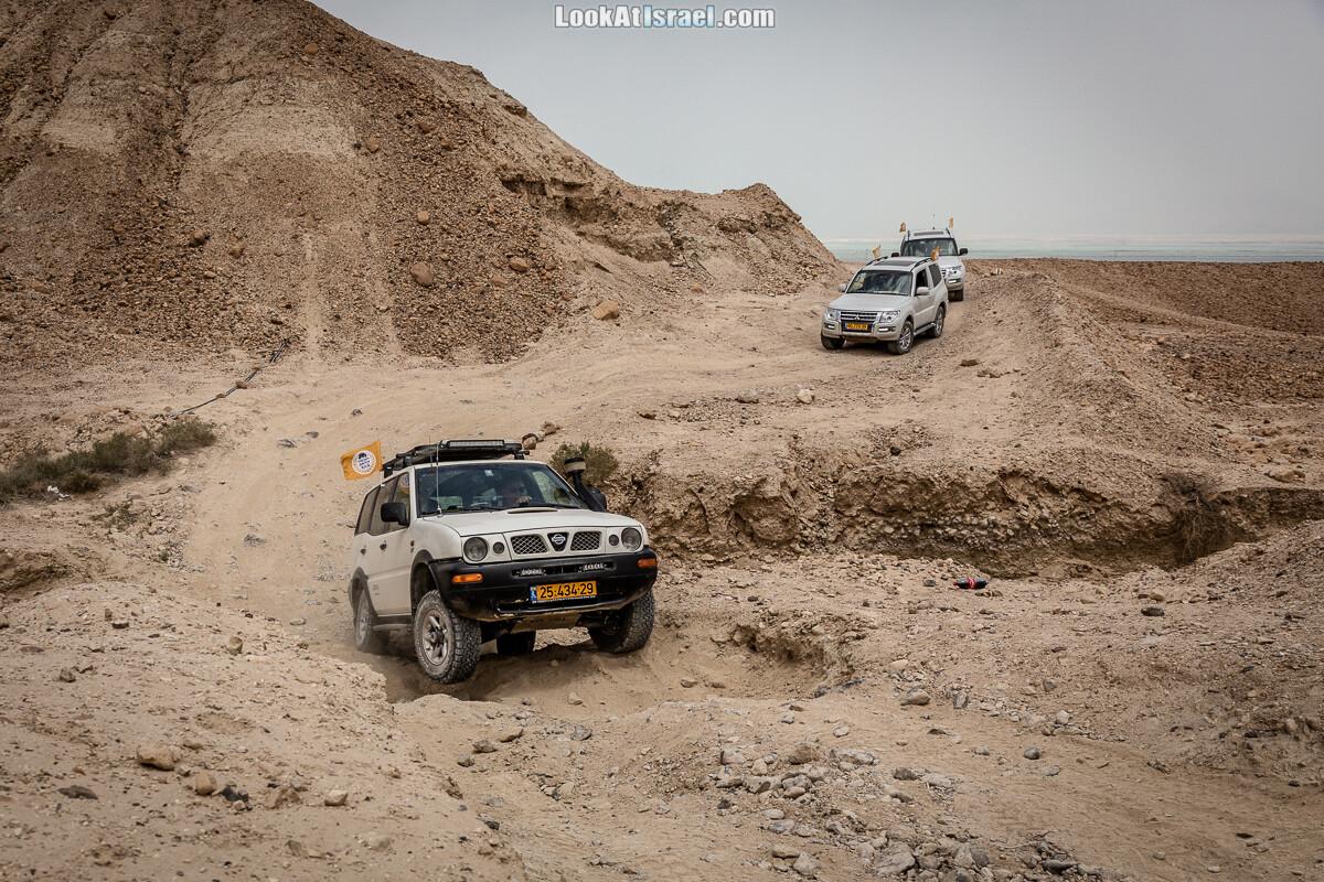 Путешествие по бездорожью в пустыне Негев