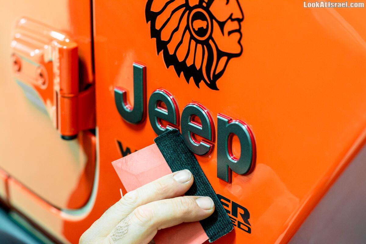 Llumar - пленка для защиты лакокрасочного покрытия автомобиля | LookAtIsrael.com - Фото путешествия по Израилю