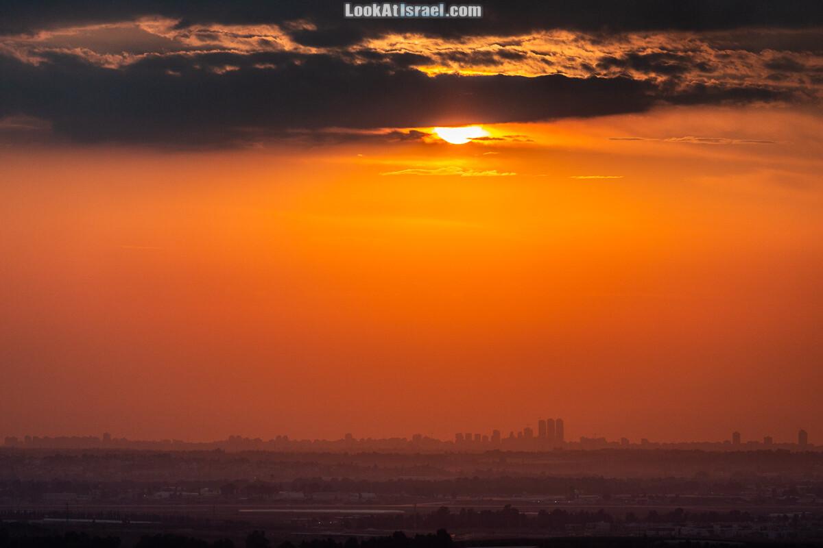 Закат в Израиле | LookAtIsrael.com - Фото путешествия по Израилю