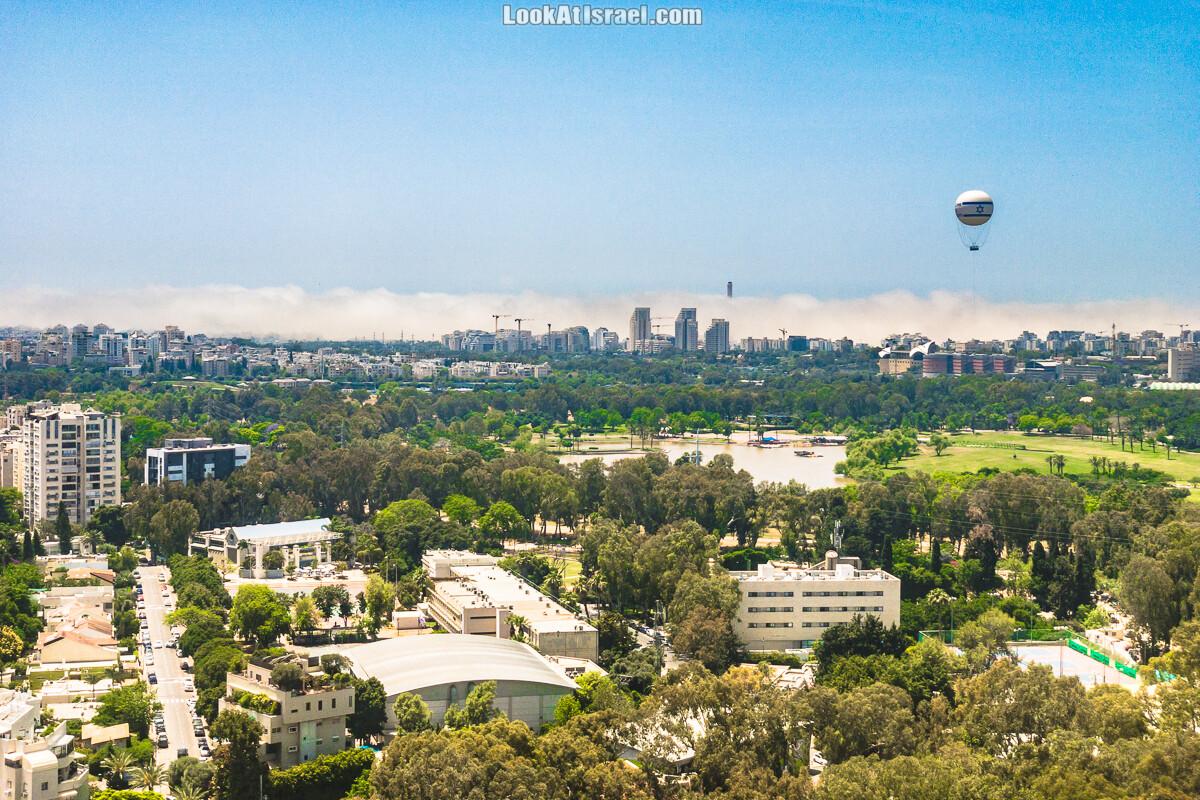 Стратус облако в Тель-Авиве | LookAtIsrael.com - Фото путешествия по Израилю