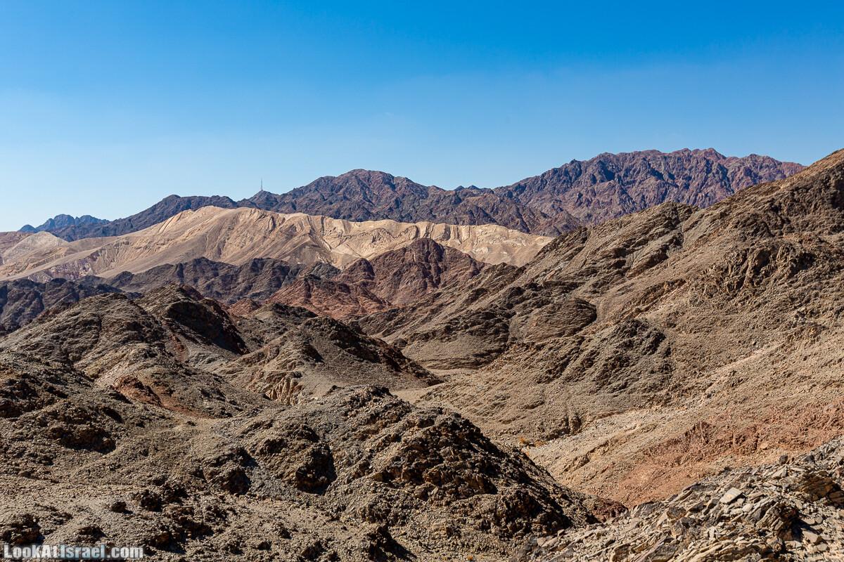 Эйлатские горы, гора Шахамон и лезвие Сакин Йотам | LookAtIsrael.com - Фото путешествия по Израилю