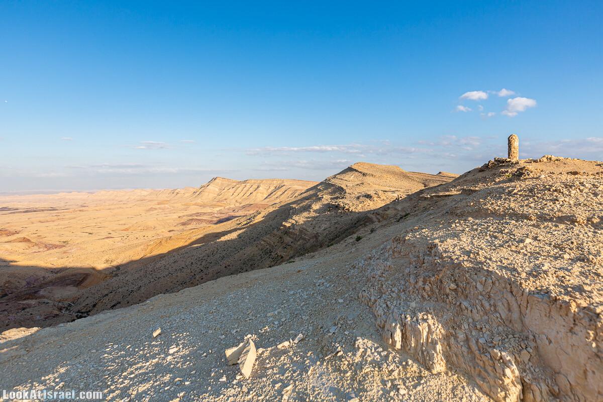 Подъём Маале Авраам, Большой кратер (Махтеш Йерухам) | דרך ומעלה אברהם במכתש ירוחם | LookAtIsrael.com - Фото путешествия по Израилю