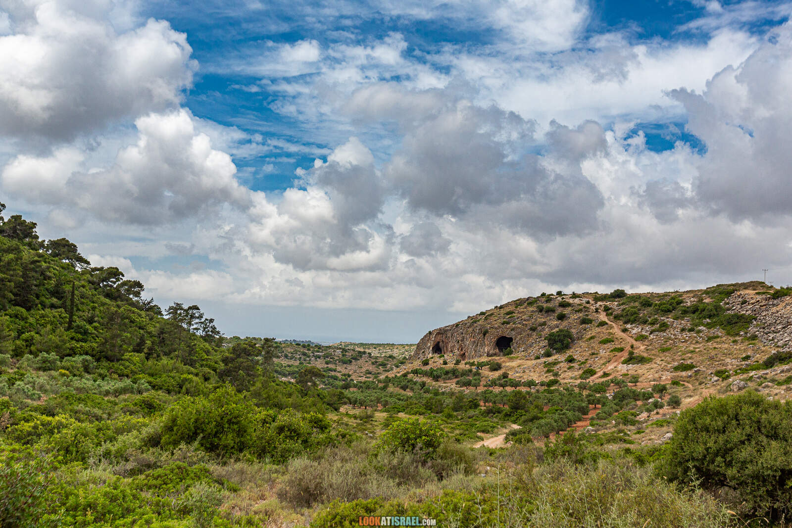 Путешествие по Галилее. Гора Гамаль (верблюд), Гора Бетах, голубиная пещера, Таршиха и кемпинг в парке Горен