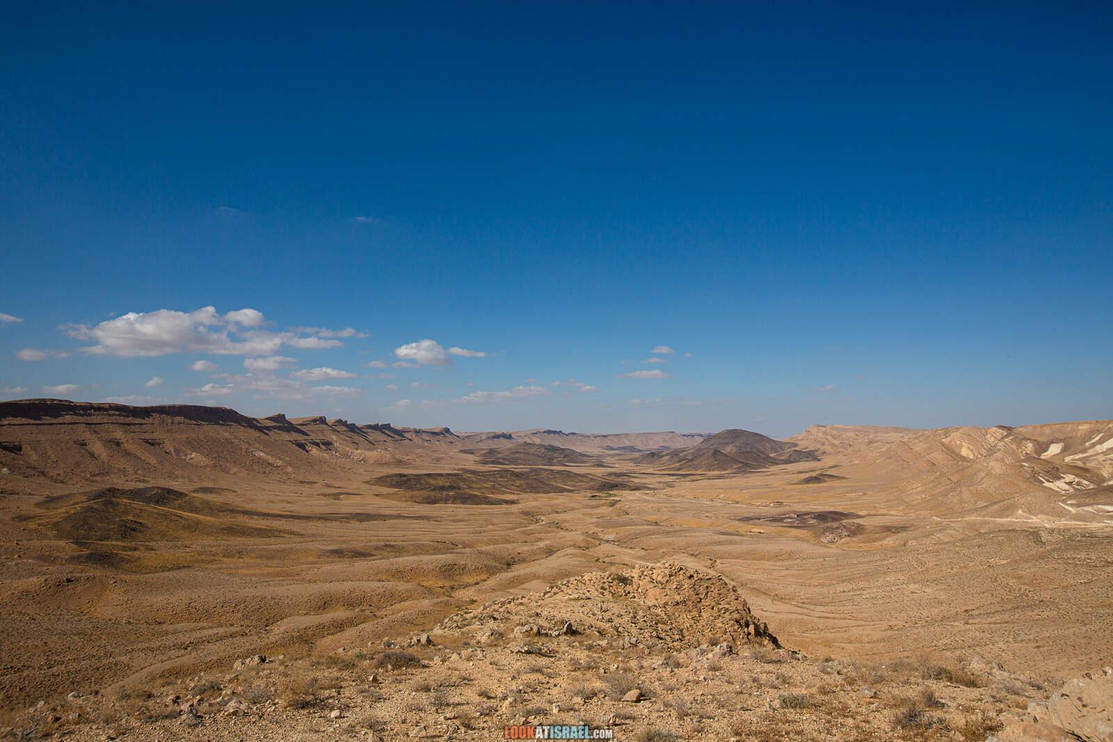 На внедорожнике вокруг махтеш Рамон, ручьи Арод и Одед | LookAtIsrael.com - Фото путешествия по Израилю