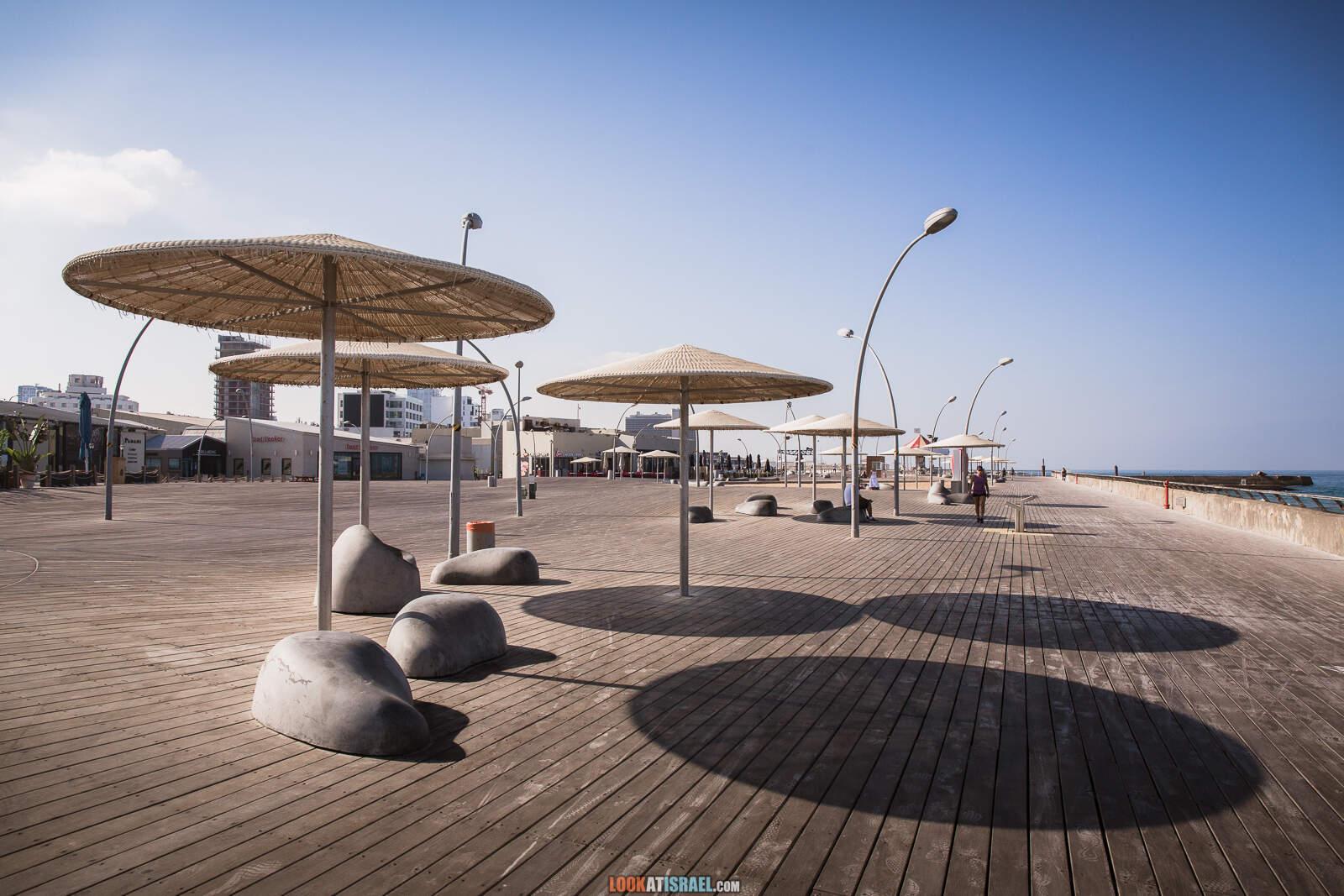Порт Тель-Авива во время карантина   Lockdown in port of Tel Aviv   LookAtIsrael.com - Фото путешествия по Израилю