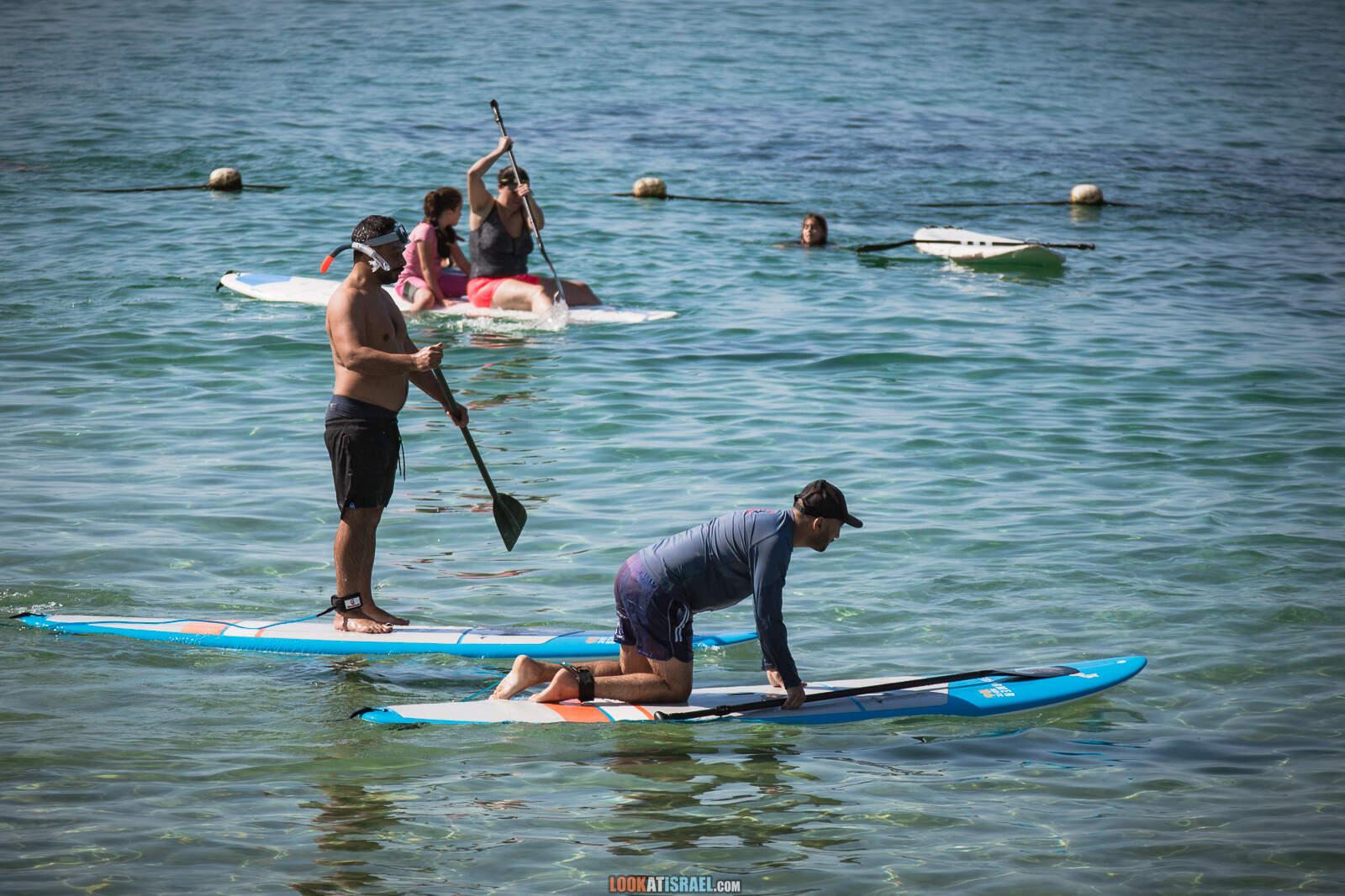 Пляжи и набережная Тель-Авива во время карантина