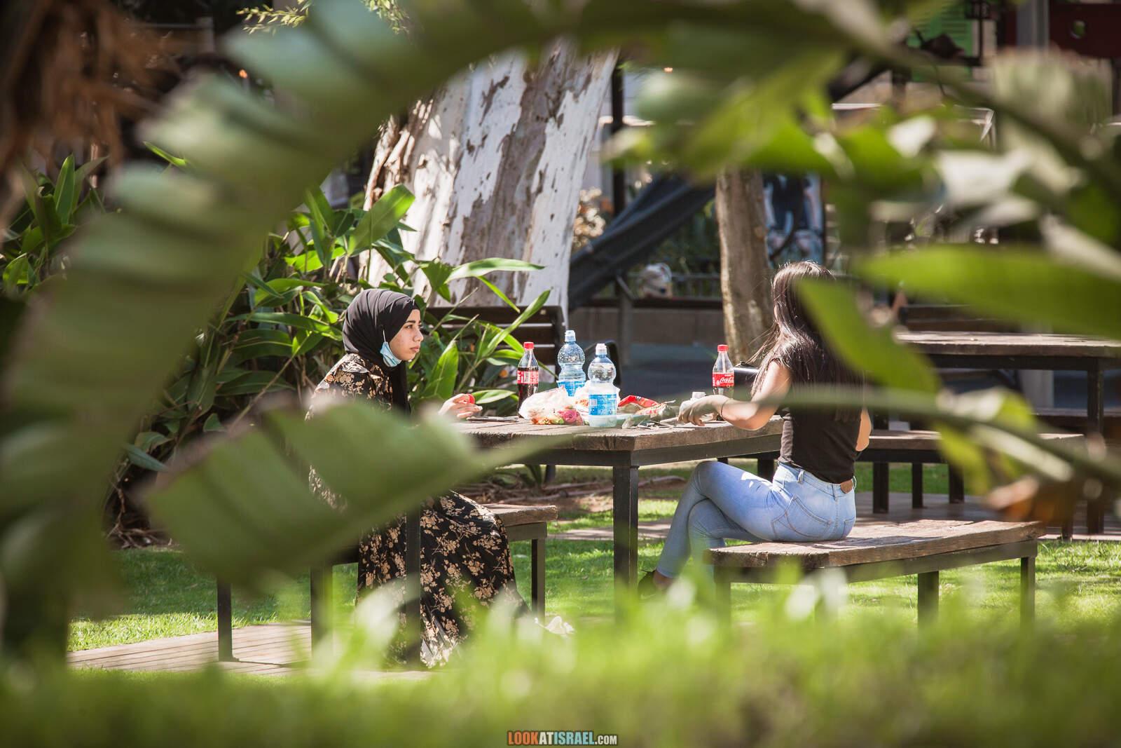 Тель-Авив, Сарона во время карантина