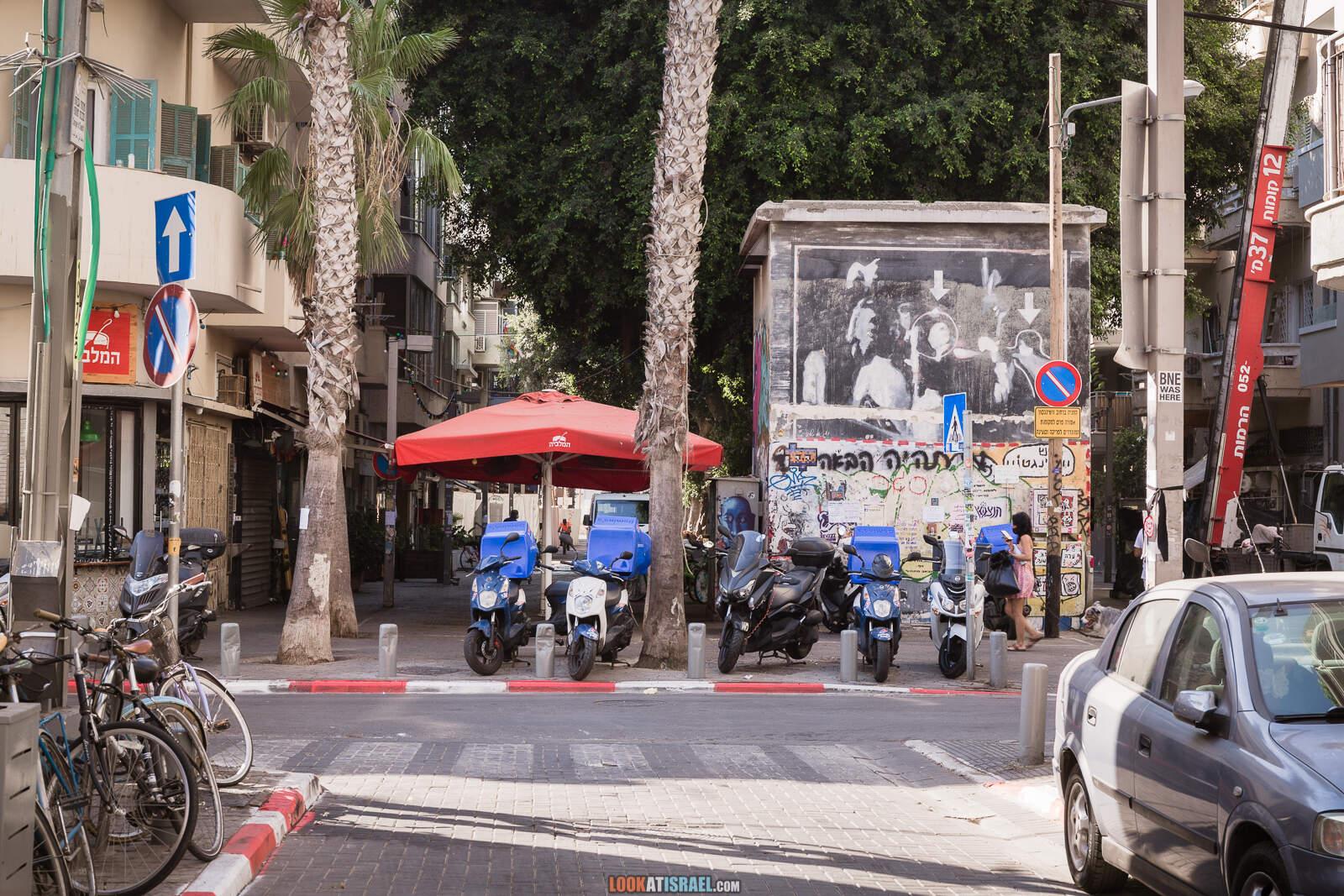 Тель-Авив, квартал Флорентин во время карантина | Lockdown in Florentin of Tel Aviv | LookAtIsrael.com - Фото путешествия по Израилю