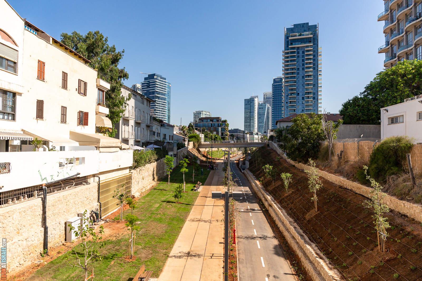 Парк а-Месила в Тель-Авиве | LookAtIsrael.com - Фото путешествия по Израилю