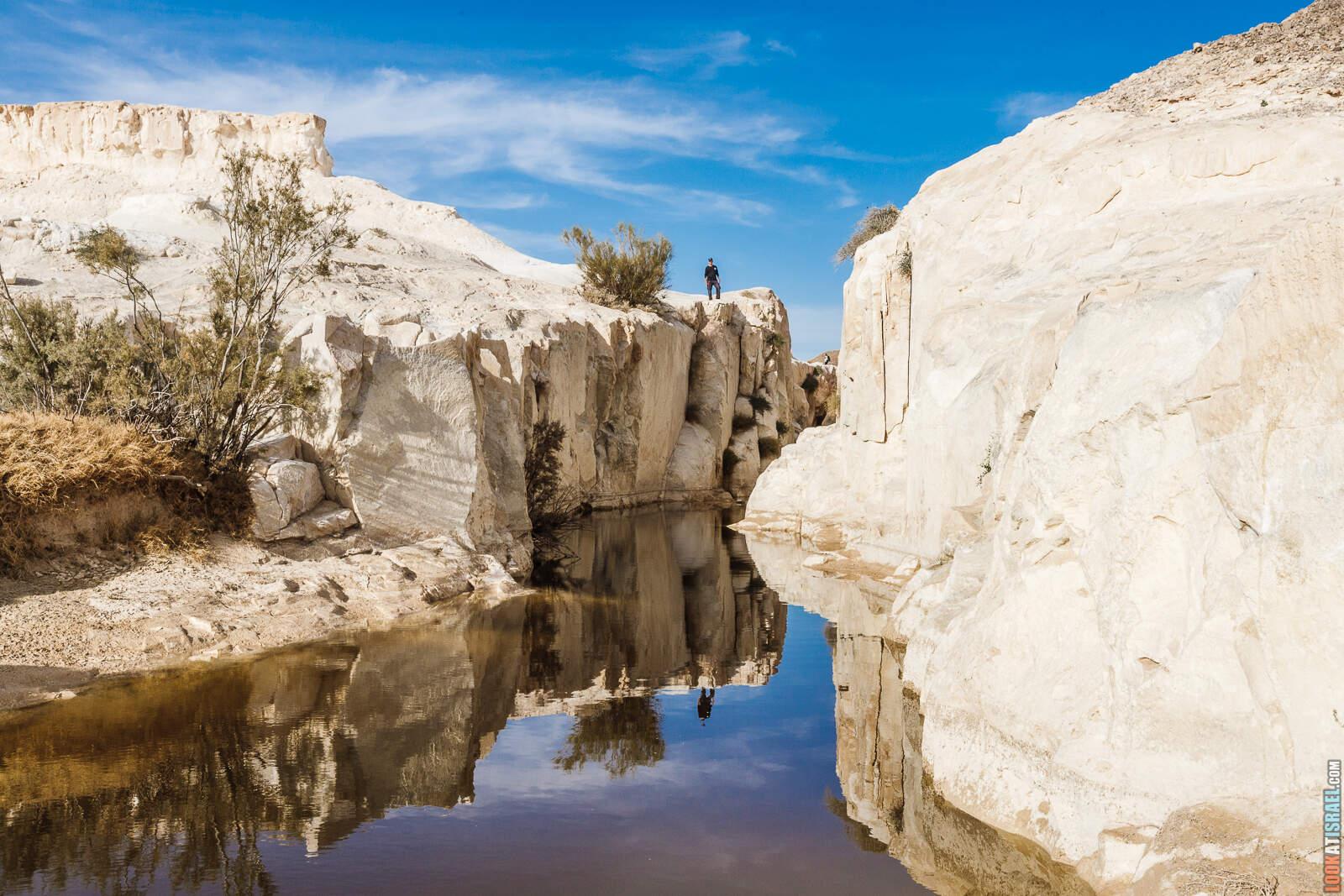Белый каньон в пустыне Негев (гора Карком) | White canyon in Negev desert | קניון הלבן בננגב