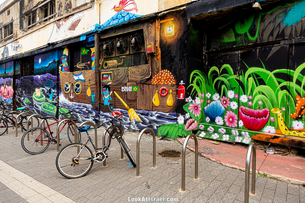 Граффити Тель-Авива и Яффо | LookAtIsrael.com - Фото путешествия по Израилю