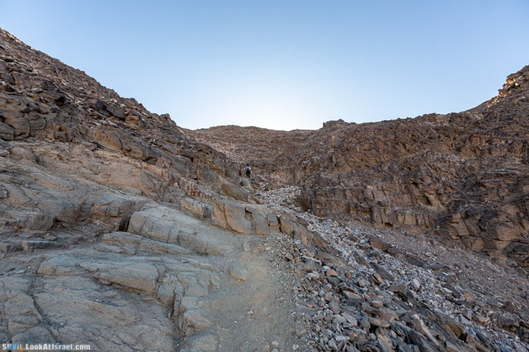 Израильская тропа, участок 46 Гора Йоаш - Вади Гешрон - Эйлат   Israel National Trail - Yoash Mt - Eilat   שביל ישראל, קטע 46 - הר יואש - אילת   shvil.LookAtIsrael.com - Фото путешествия по Израилю