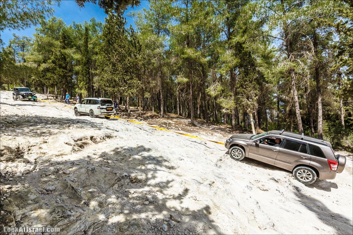 Курс вождения по бездорожью | LookAtIsrael.com - Фото путешествия по Израилю
