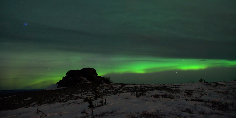 The weather hasn't been kind to our night sky over the last couple of weeks. Right as the aurora seemed to be getting good too - stupid clouds.