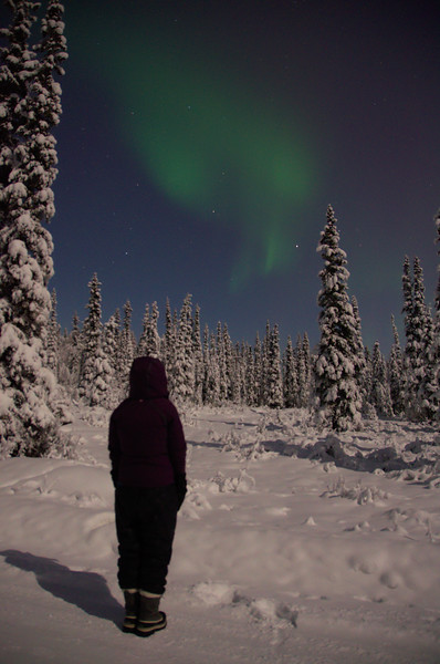 CJ watches the band disappear. The Bz component of the insterstellar magnetic field kept flipping north and south fairly quickly. The aurora faded in and out with it.