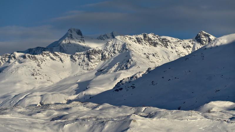Black Cap in the Shade, the Castner Glacier in the light