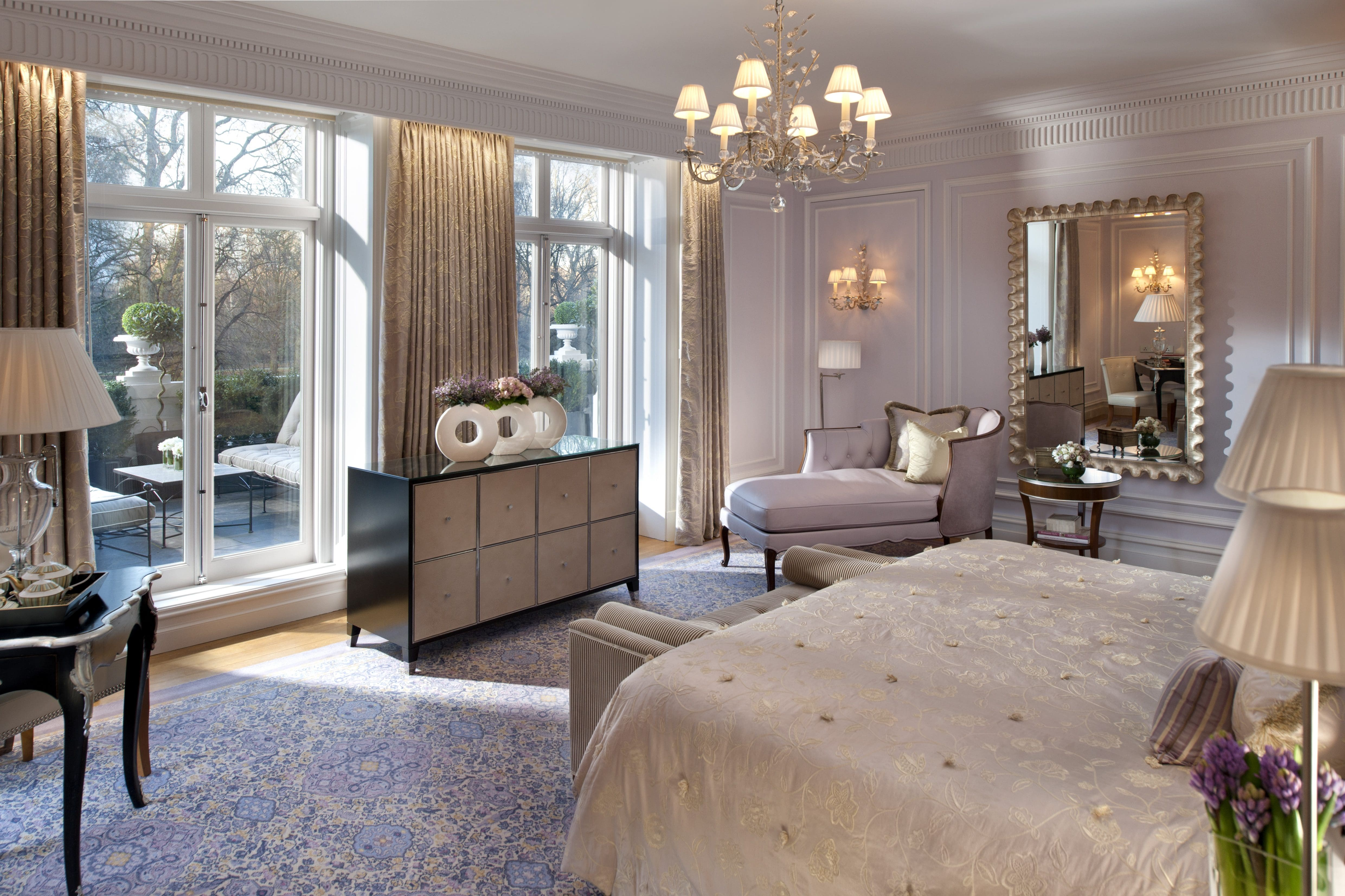 London Royal Suite Mandarin Oriental Hyde Park Hotel