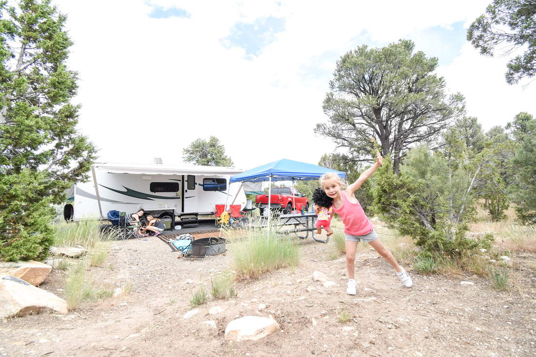 Enjoy the best City of Rocks Idaho Camping - Castle Rocks State Park.  The Castle Rocks Campground has spacious camp sites, with ample parking and distance between sites.