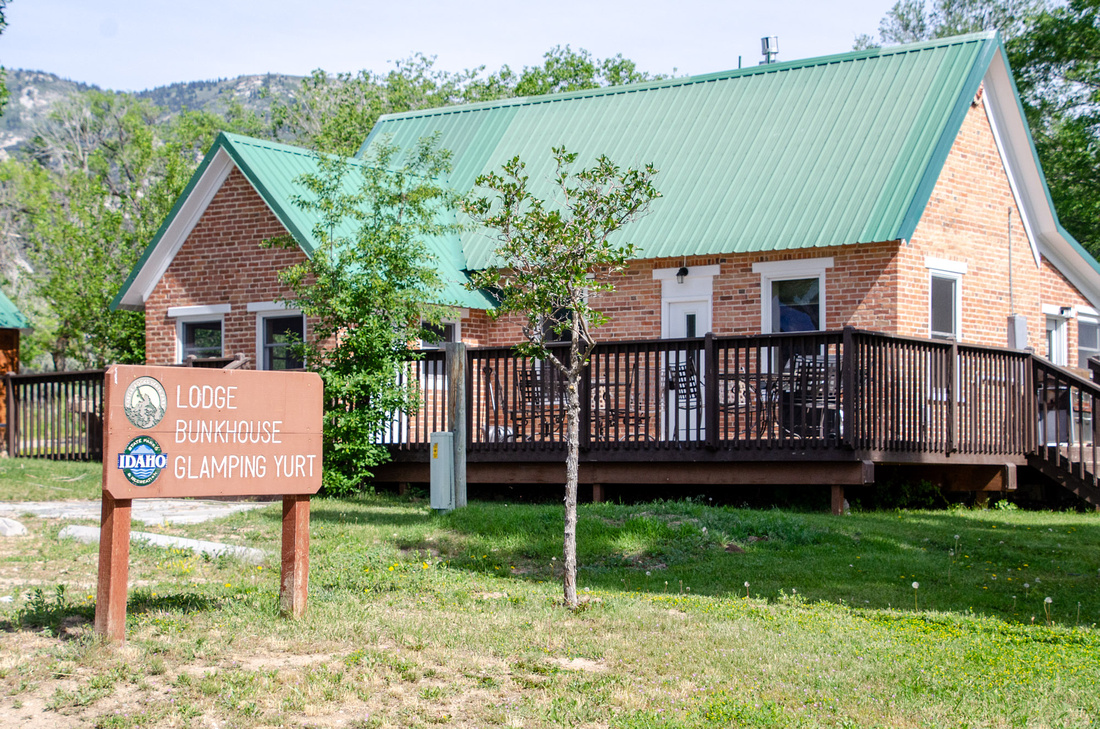 The Lodge at Castle Rock Ranch sits inside the Castle Rocks State Park, and can be reserved for overnight stays.  Nearby accommodations include an overnight yurt and bunkhouse, all of which can be reserved through Idaho State Parks and Reserve America.