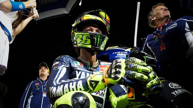 Rossi achieves 'dream' podium result in Qatar