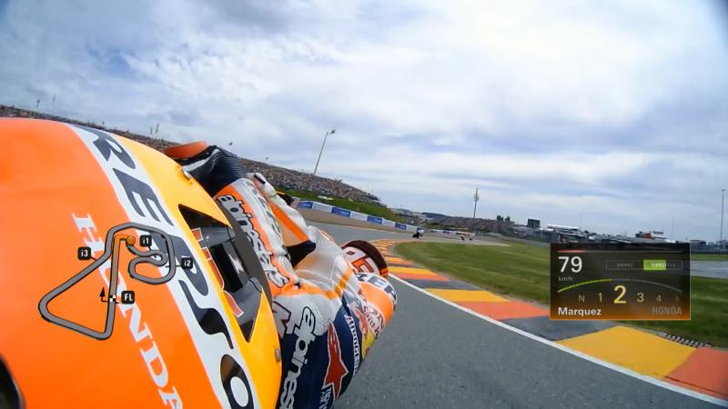 #GermanGP: Go Onboard with the top qualifying riders