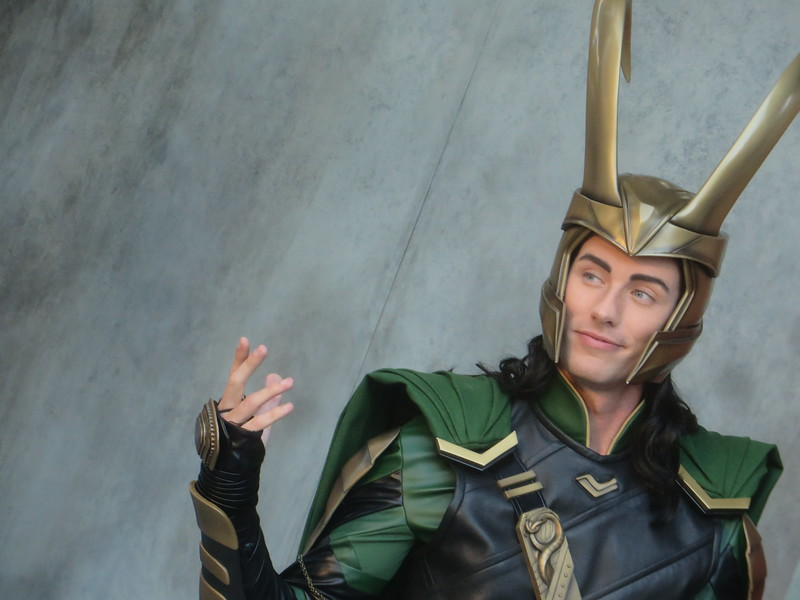 photos loki makes first character appearances at dca in