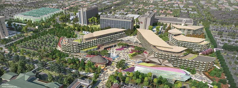 Squabbles between Anaheim and Disneyland force 'indefinite hold' on new hotel