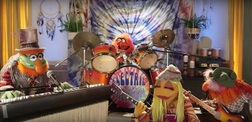 WATCH: Full video of Muppets rocking and rolling at Outside Lands Music Festival 2016