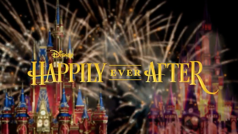 Take a look behind the scenes of HAPPILY EVER AFTER fireworks coming