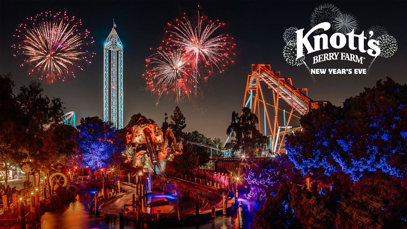 KNOTT'S MERRY FARM New Year's Eve celebration adds slew of extras, extended hours