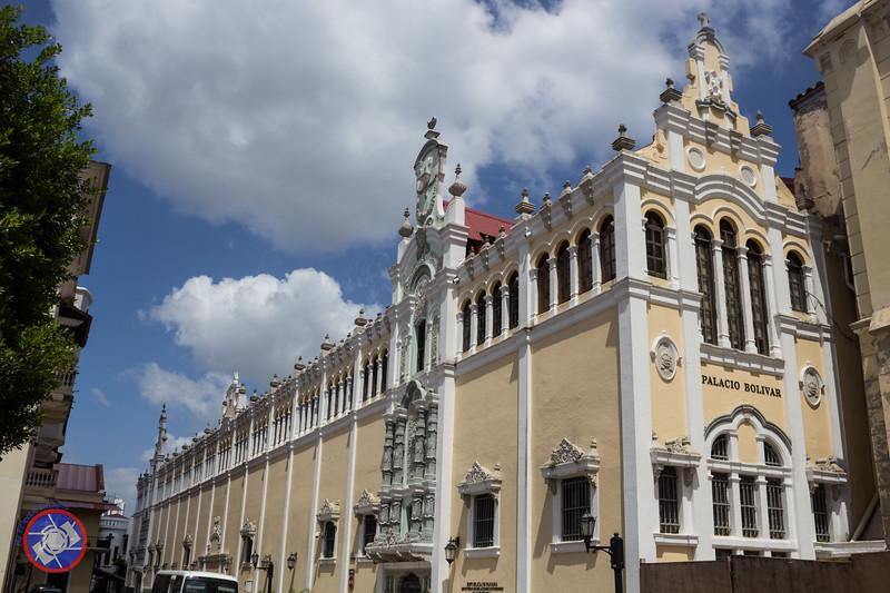 One Side of Plaza Simon Bolivar