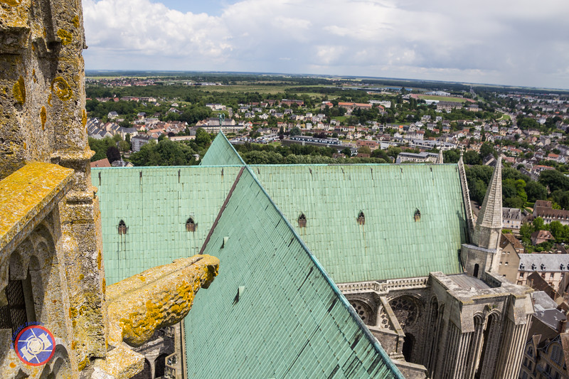 View from the Cathedral Spire Across the Roofline (©simon@myeclecticimages.com)