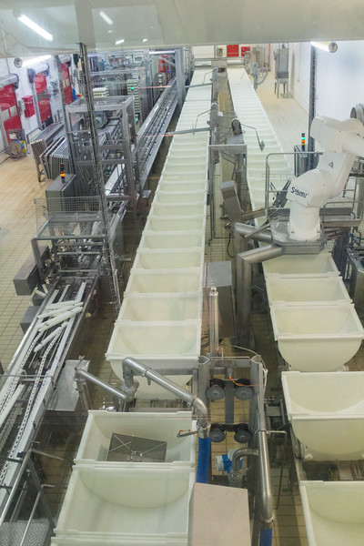 A Modern Cheese Factory in Livarot (©simon@myeclecticimages.com)