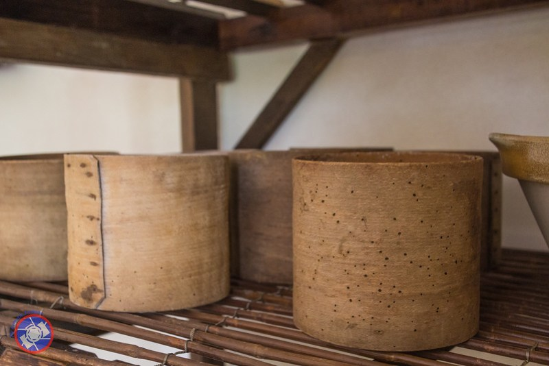 Old Fashioned Wooden Molds at Fromagerie Durand (©simon@myeclecticimages.com)
