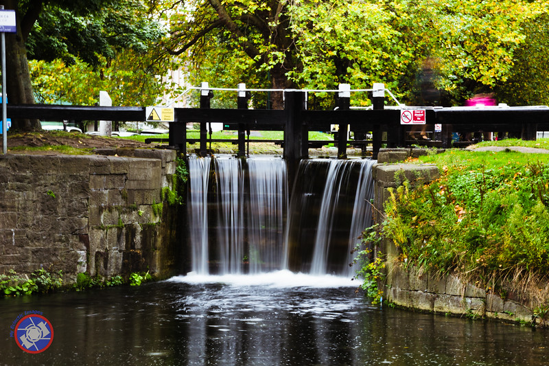Lock Four on the Grand Canal, Dublin - Directly Across the Street from the Mespil Hotel (©simon@myeclecticimages.com)