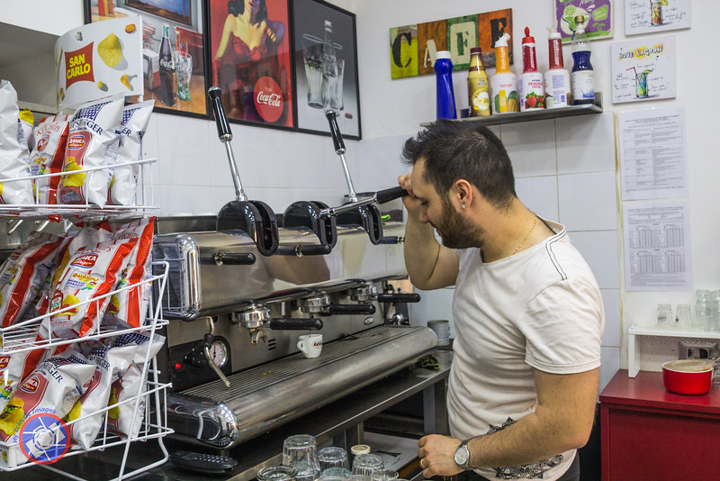 Marco Preparing Neapolitan Coffee for Us (©simon@myeclecticimages.com)