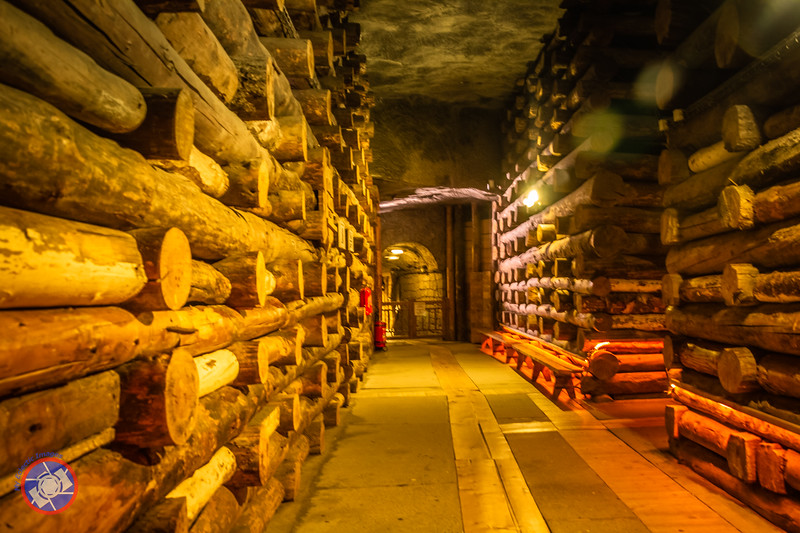 A Typical Passageway Connecting Chambers in One of the Upper Levels of the Wieliczka Salt Mine (©simon@myeclecticimages.com)
