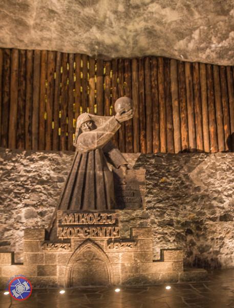 Statue Honoring Copernicus in the Wieliczka Salt Mine (©simon@myeclecticimages.com)