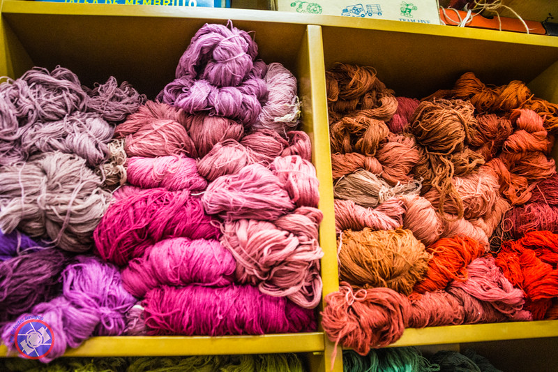 A Small Section of Wool Stored at the Factory (©simon@myeclecticimages.com)