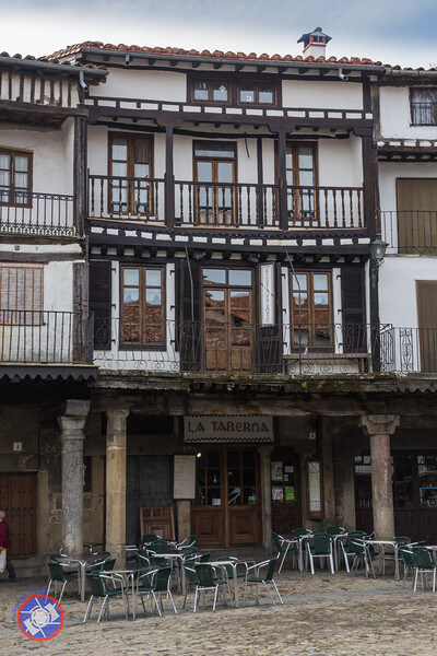 A Building on the Main Square in La Alberca (©simon@myeclecticimages.com)