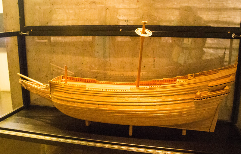 Touchable Model of the Vasa (©simon@myeclecticimages.com)