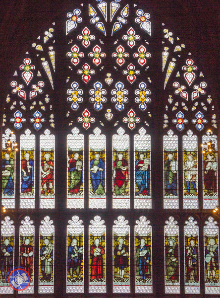 A Stained Glass Window in the Main Reading Room (©simon@myeclecticimages.com)