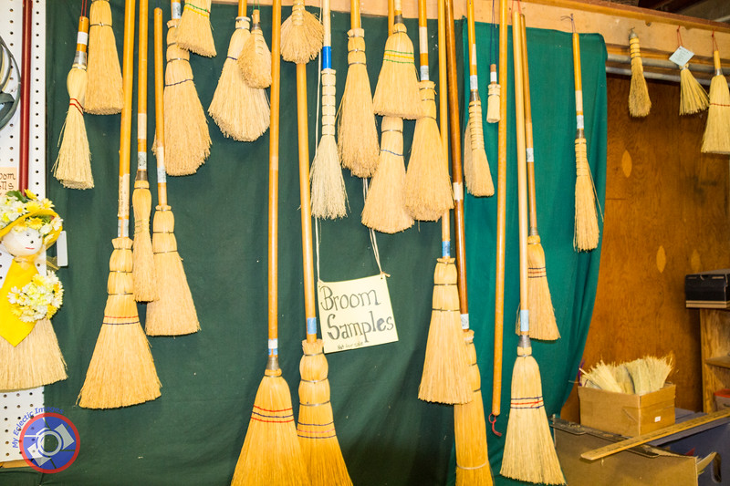 Selection of Brooms Made in Amana (©simon@myeclecticimages.com)