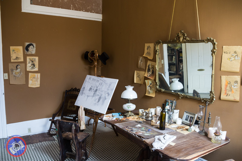 The Artists Room and Studio in Degas House (©simon@myeclecticimages.com)