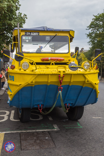 Front View of the Viking Splash DUKW (©simon@myeclecticimages.com)