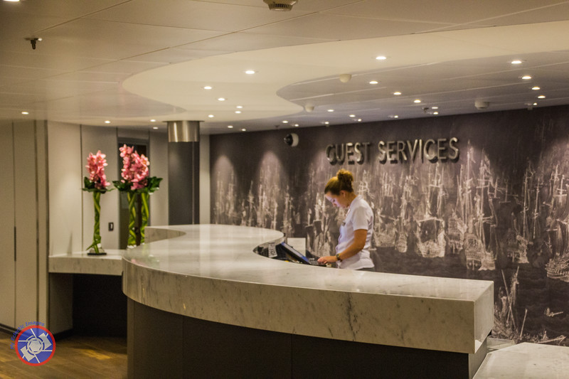 Westerdam's Guest Services - Only Seen as Quiet as This Late at Night (©simon@myeclecticimages.com)