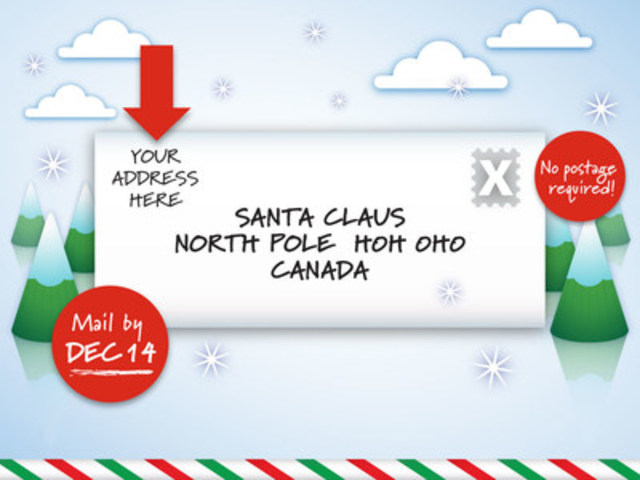 Canada Post Gearing Up For Letters To Santa
